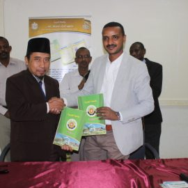 A delegation from the institute of Dar Owly AL Bab From Indonesia visits university of Gezira