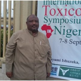 Dr. Ihab Al-Sir Mohamed Elias, The Head of Pesticides and Toxicology Department, participated in the Nine international conference for Toxicology in Nigeria