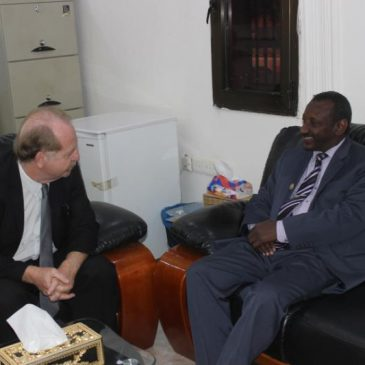Regional Director of Agency of Universities Francophonie (AUF), visits the University