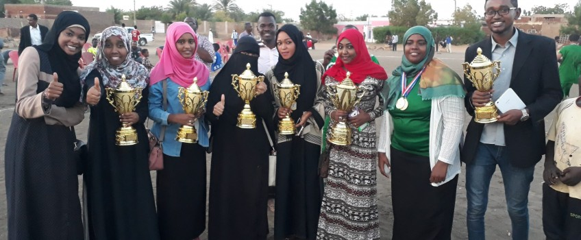 Deanship of Students' Affairs participates in the sixth Student Creativity Festival at Sinnar