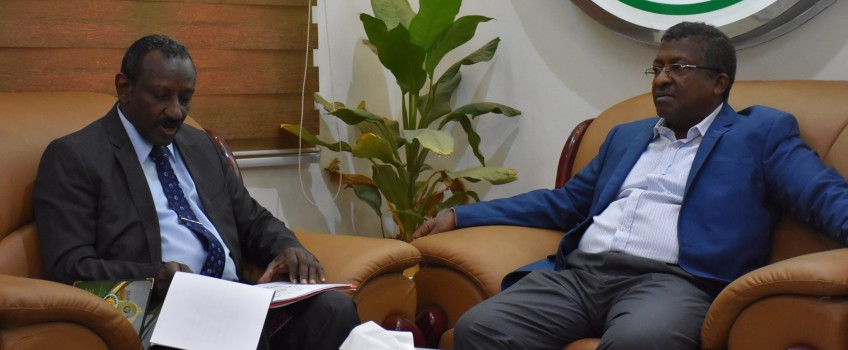 Formation of a joint Committee between University of Gezira and the National Student Welfare Fund to follow up the Implementation of the Five-Year Plan