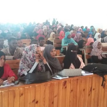 Lecture on the Academic Regulations of the students of the Batch (41) at the faculty of Education El –Hasahisa