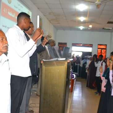 Batch (41) at the Faculty of Applied Medical Sciences leads the Oath of Nursing