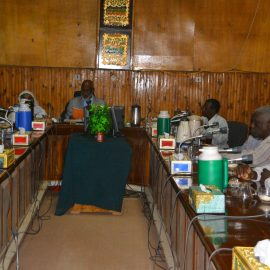 Meeting of the Higher Committee of the University of Gezira  Educational  Foundation