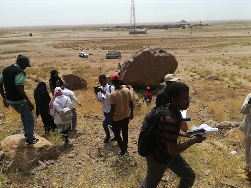 The Faculty of Science at University of Gezira Implements a Scientific Trip to Moya Mountain